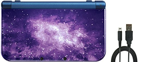 Nintendo New 3DS XL Bundle (2 Items): Nintendo New 3DS XL - Galaxy Style, and a NEW USB Charge USB Cable by Nintendo