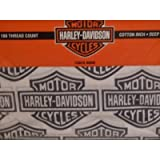 Harley Davidson Motorcycle Sheet Set - FULL