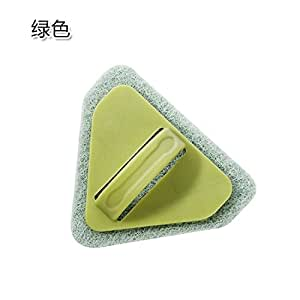 Para inodoro triángulo cepillo exfoliante de baño cepillo para piso del cuarto de baño azulejos de cocina descontaminación esponja para limpiar la estufa ...