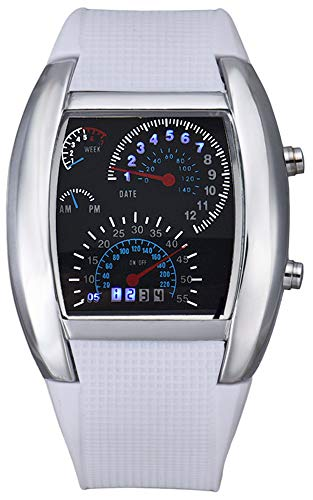 Analog Watch With Led Light in US - 7