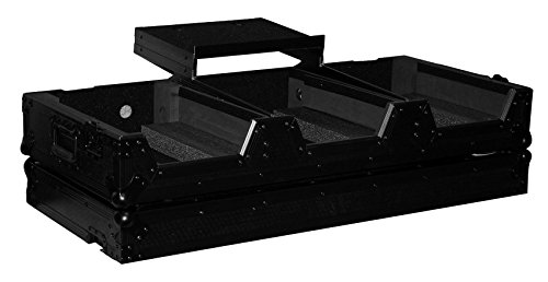 (ProX XS-CDM2000WLTBL Flight Case+Laptop Shelf+Wheels 4 Pioneer DJM 900/CDJ 2000)