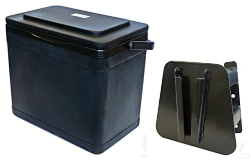Insulated Large Capacity 11.75 Quart Cooler for Yamaha Drive Passenger Side Mount (Yamaha Drive)