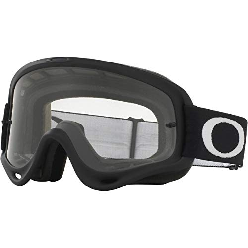 Oakley O Frame MX Adult Off-Road Motorcycle Goggles - Matte Black/Clear (Oakley Over Glasses Ski Goggles)
