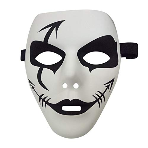 Zengbuks Mascara De Graffiti De Pvc Mascaras De Disfraces De