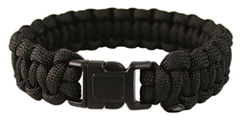 Mil-Tec Paracord Bracelet 22mm Noir 1
