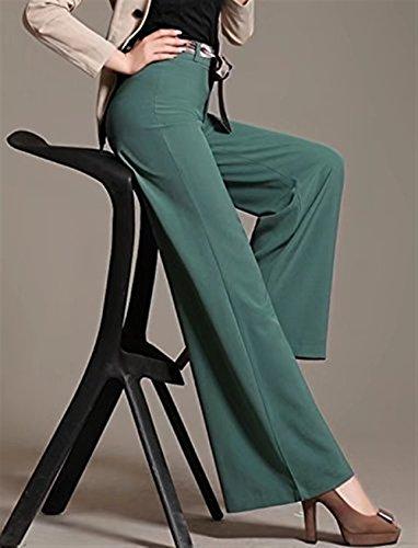 Baggy Di Gr Pantaloni Vita Pantaloni Elastica Di Baggy Stoffa Cintura HaiDean Semplice Pantaloni Modern Donna Trousers Glamorous Taille Nahen Eleganti Estivi Dritti Sottile Inclusa Pantaloni Lunga U4d1dFqw