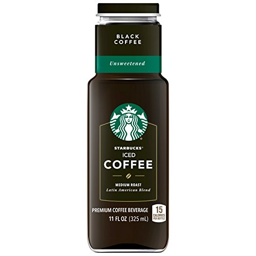Starbucks Iced Coffee, Black Unsweetened, 11oz Bottle by Starbucks (Image #3)