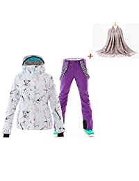 SunFlower666 Ski Windproof High Technology Colorful Snowboard Ski Jacket