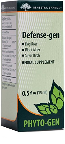 Genestra Brands – Defense-gen – Dog Rose, Black Alder, and Silver Birch Herbal Supplement – 0.5 fl oz (15 ml)