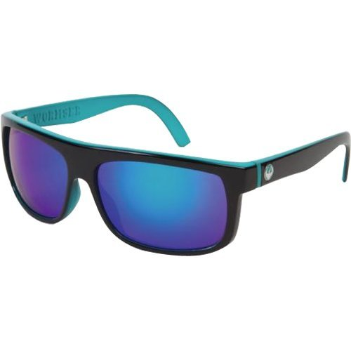 Dragon Alliance Wormser Men's Medium Fit Outdoor Sunglasses - Jet Teal/Green Ionized / One Size Fits All by Dragon Alliance by Dragon Alliance