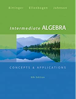 Intermediate algebra charles p mckeague 9781936368068 amazon intermediate algebra concepts applications 9th edition bittinger concepts applications fandeluxe Images