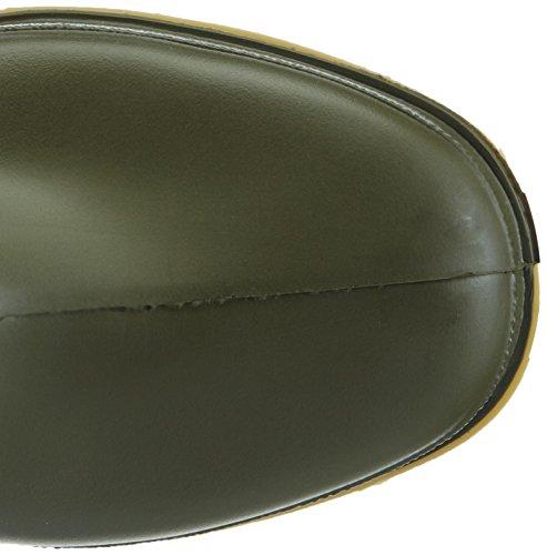 Green Wellington Boots Dunlop Boots Childrens Rain 16247 DULLS Kids Unisex nqTawv7