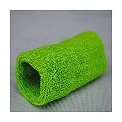 Sunonip Fashion Casual Solid 15Cm Basketball Gym Unisex Sports Cotton Sweat Band Sweatband Wristband Wrist One Size Adults Estimated Price £8.19 -