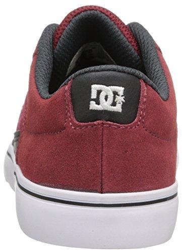 DC Shoes Cole Pro-d0320038 - zapatillas de skateboard de cuero niño - Burgundy