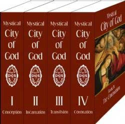 Mystical City of God 4 Volume Set by Agreda (City of God)