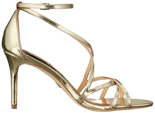 Badgley Mischka Lillian Piel Tacones