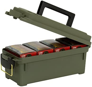 Plano Molding 1212 – 02 Shot carcasa caja de municiones, Capacidad para 4, Verde, 1, 1: Amazon.es: Salud y cuidado personal