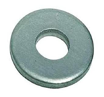 1-1//4 x 2-1//2 OD Plain Finish 18-8 Stainless Steel Flat Washers 5 pk.