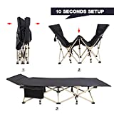 REDCAMP Folding Camping Cots for Adults Heavy
