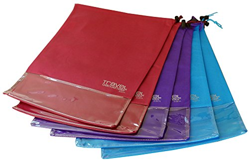 shoe-bags-6-pk-see-through-window-large-keeps-dirt-out-of-your-luggage-6-piece-set-teal-purple-burgu