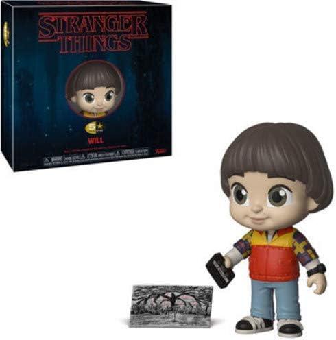 Funko 5 Star Stranger Things – Figura de acción de Will (Incluye Funda Protectora de Caja Pop): Amazon.es: Juguetes y juegos
