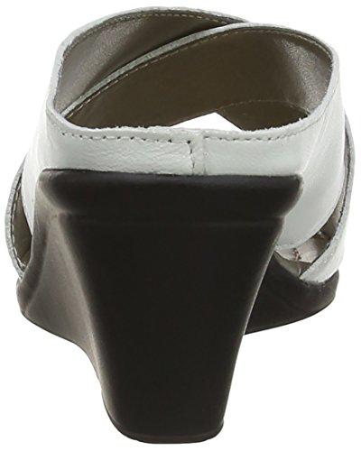 Lotus Trino - zuecos de cuero mujer, color negro, talla 37 (talla fabricante: 4 UK)