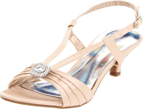Coloriffics Women's Carly Ankle-Strap Sandal,Nude,6.5 M -
