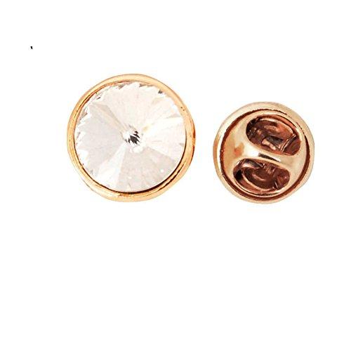 Gemstone Star Brooch (Korean star rhinestone brooch Lady brooch clasp CI Ma nail-D)