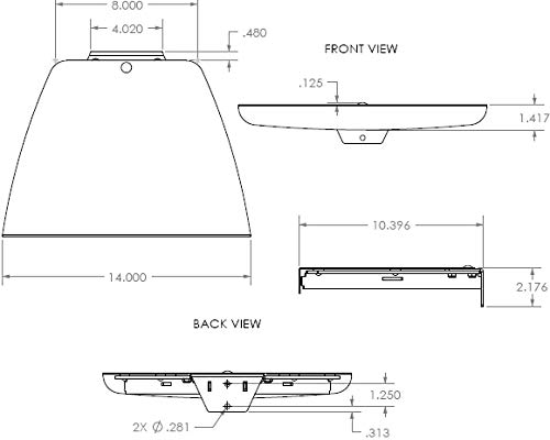 (Chief PAC-101B Flat-Panel Accessory)