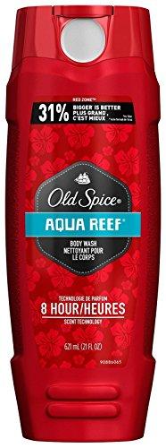 Old Spice Body Wash Red Zone Aqua Reef 21 Oz (621ml), 1.45 Pound