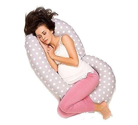 Almohada de embarazo, para mujeres embarazadas, con forma de C