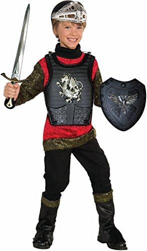Forum Novelties Black Knight Child Costume Armor Set (Chest Plate Armor)