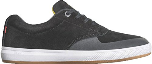 Globe Men's The Eagle SG Skate Shoe, Black/Butter flip, 8 M US