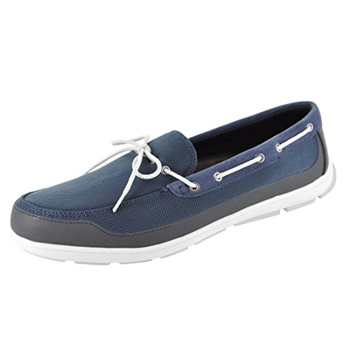 SWIMS Mens George Summer Lace Loafers Navy LDhRTi