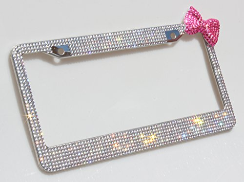 Carfond Waterproof Rhinestones Stainless Clear hotpink product image
