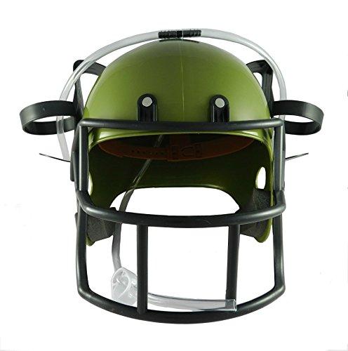Olive Green Football (Forum Novelties Football Drinking Helmet,)