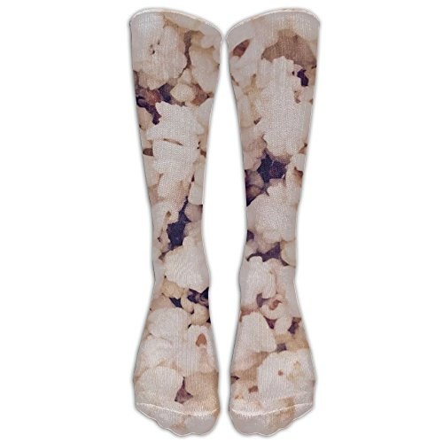 Popcorn Fashionable Knee High Sport Sock For Women Or Man Baseball Socks