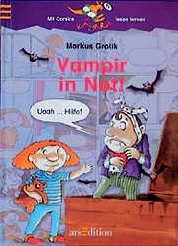 Vampir in Not! (Känguru - Mit Comics lesen lernen!)