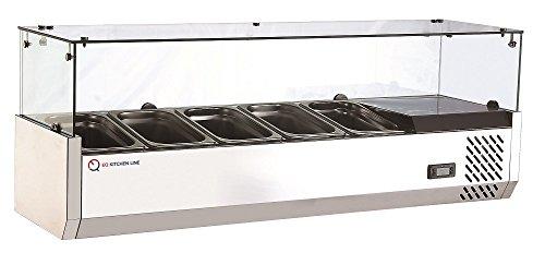 EQ Kitchen Line RT-1200L Refrigerated Counter top Sandwic...