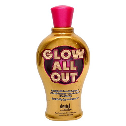 Devoted Creations GLOW ALL OUT Dark Bronzer - 12.25 oz.