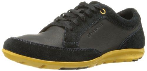 Rockport Men's Truwalk Zero II Blucher Mudgaurd Walking Shoe,Black Suede,8 M US