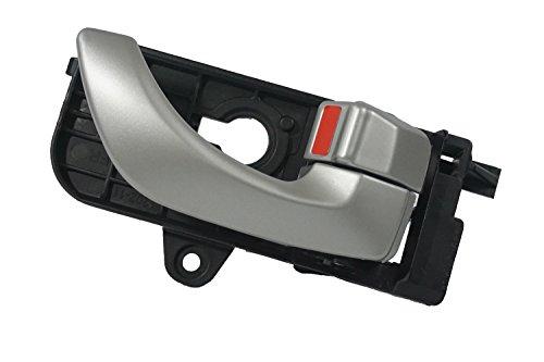 2008 Hyundai Sonata Front Right Passenger Side Inside Silver Door Handle (Right Hyundai Sonata)
