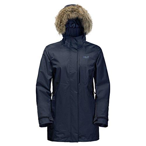 Jacket Blue Jack Women's Arctic Wolfskin Night Ocean Wq6IY