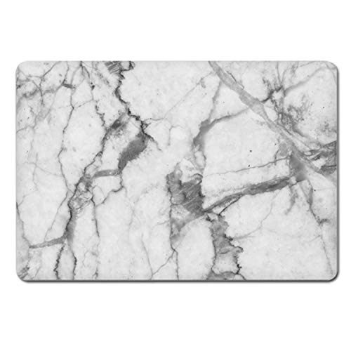 - Grey Marble Texture Laptop Body Decal Protective Skin Vinyl Stickers for Laptop 11