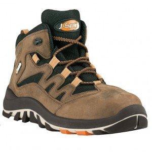 Chaussures de sécurité JALBOREA cuir marron - J0600