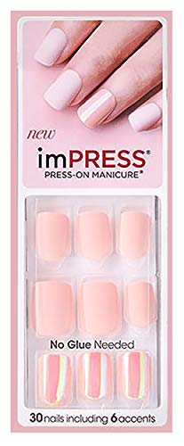 Kiss imPRESS SO SO STELLAR Short Length Press-On Nails (Impress Short Nail)