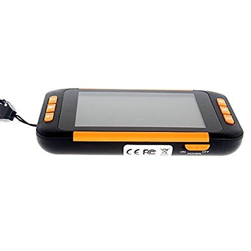 Seesii 3,5-Zoll-Farb-LCD-Bildschirm 2-32X ZoomPocket tragbare elektronische Lesehilfe Video Lupe für Low Vision - Ideal Aide für Lesen, Schreiben, Anzeigen von Karten, Menüs, Verordnung Flaschen, Bücher und Rechnungen - Digitale Handwerkzeug für Low Vision (Produkt1)