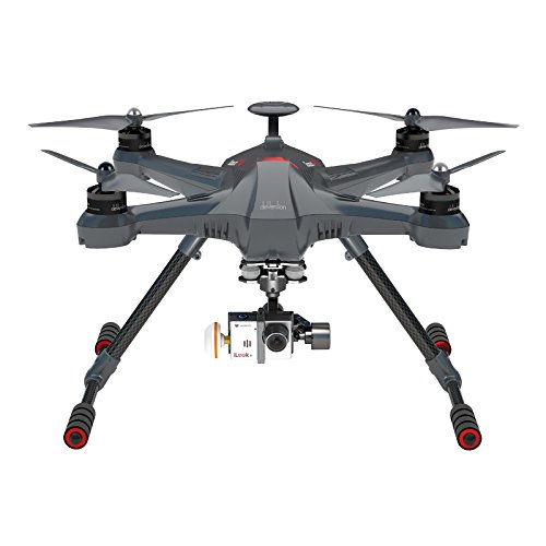 Walkera Scout X4 Ready to Fly FPV RC Quadcopter with Ground Station, 3 Axis Brushless Gimbal, iLook+ Action Camera and...