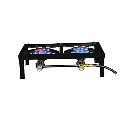 double burner gas stove - 2