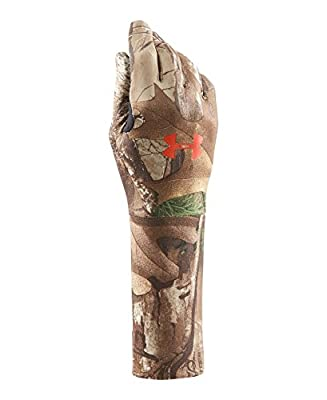 Under Armour Boys' Youth Camo CG Liner Glove Gloves